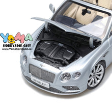 Paragon 1/18 2016 Bentley Continental GT Convertible LHD Silver PA-98231L