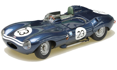 EXOTO XS 1/18 1956 Jaguar D-Type #23 Short Nose Ecurie Ecosse 4th Reims 12 Hours RLG88004B
