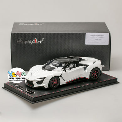 Frontiart SophiArt 1/18 W Motors Fenyr Supersport after Lykan White SA003-02