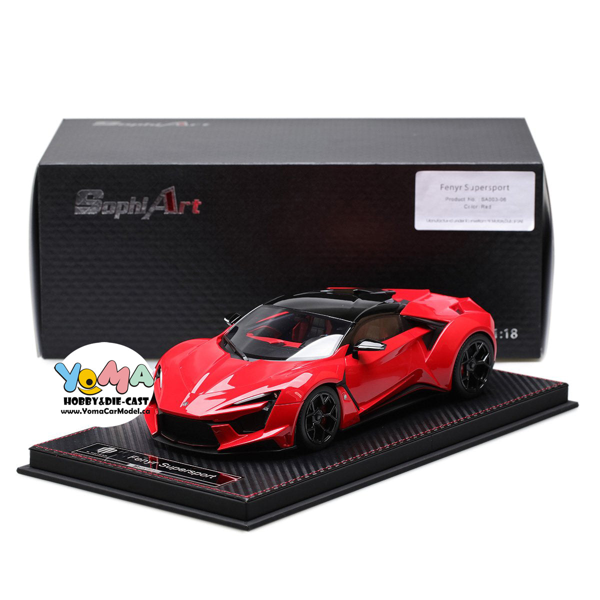 Frontiart SophiArt 1/18 W Motors Fenyr Supersport after Lykan SA003-06