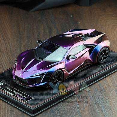 Frontiart SophiArt 1/18 W Motor Fenyr Supersport after Lykan Chameleon SA003-125