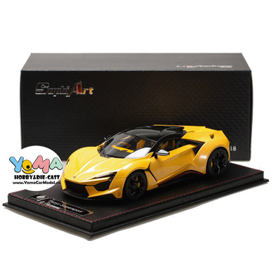 Frontiart SophiArt 1/18 W Motors Fenyr Supersport after Lykan Yellow SA003-68