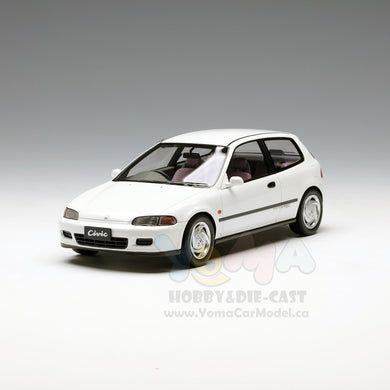 Tarmac Works 1/18 Honda Civic Eg6 Sir II 1993 White T01-SIR-WH