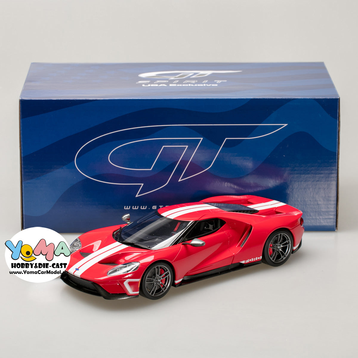 Gt Spirit  Ford Gt Heritage Edition Usb