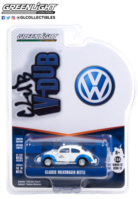 GreenLight 1:64 Club Vee-Dub Series 12 - Classic Volkswagen Beetle - Acapulco, Mexico Taxi 36020-F