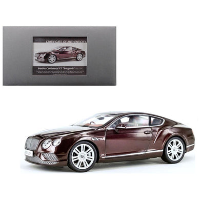 Paragon 1/18 2016 Bentley Continental GT Coupe(RHD) Red PA-98221R