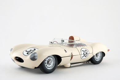 EXOTO XS 1/18 1958 Jaguar D-Type #38 Short Nose The Border Reivers RLG89006
