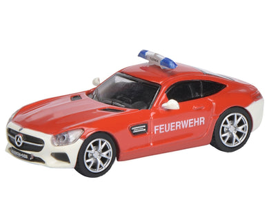 Schuco 1/87 Mercedes Benz AMG GT S fire Department 452628500