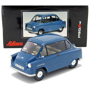 Schuco 1/18 Zundapp Janus Blue Resin Car Model 450009900