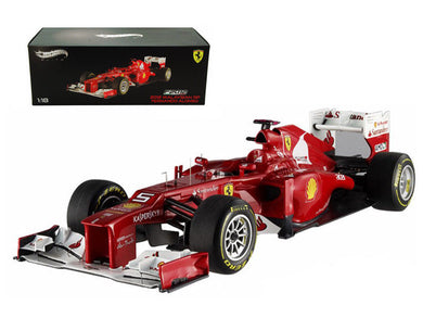 Hot Wheels Elite 1/18 Ferrari F2012 #5 Formula 1 Malaysian GP Fernando Alonso X5484