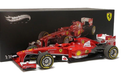 Hot Wheels Elite 1/18 F1 Ferrari F138 #3 Formule 1 China GP 2013 Fernando Alonso BCT82