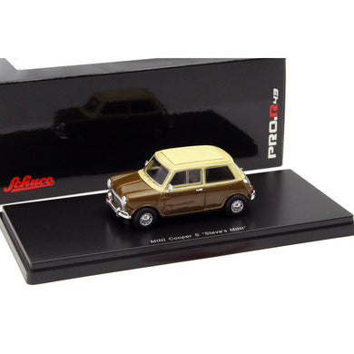 Schuco 1/43 Mini Cooper S Steve McQueen brown 450898500