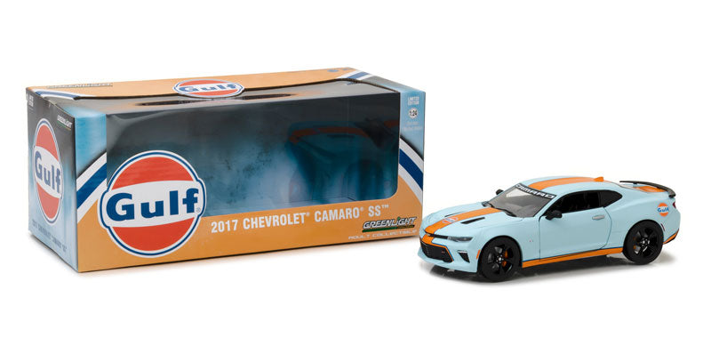 GreenLight 1/24 2017 Chevrolet Camaro SS Gulf Oil 18233