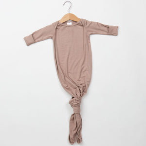 Knotted Gown - Mocha