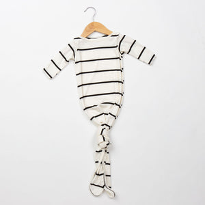 Knotted Gown - Stripe