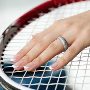Silicone Ring For Women-  Breathable Comfort Fit