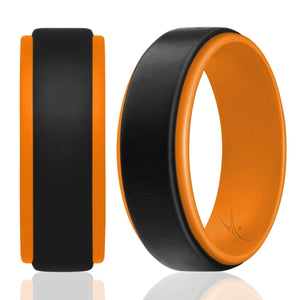 Silicone Ring for Men - Step Edge Duo Collection