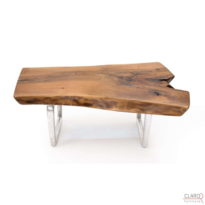 Walnut Slab Coffee Table