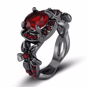 Paloma Red Amethyst Ring
