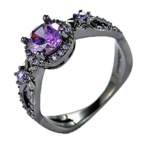 Paloma Purple Amethyst Ring
