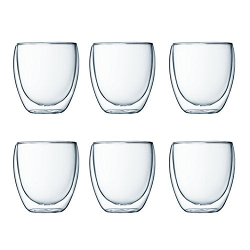 Set de 6 vasos térmicos - 250 ml