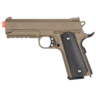 Full Metal 1911 Airsoft Training Pistol 210 FPS Gun