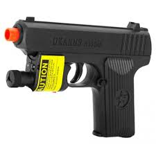 pring Pistol M333AF Airsoft Gun with Laser and Light