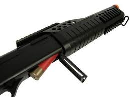 Spring M180D1 Full Stock Airsoft Shotgun