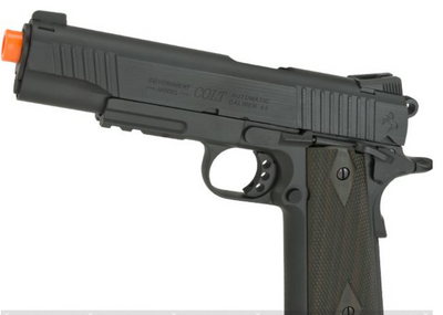 Colt 100th Anniversary Licensed Full Metal M1911 A1 Airsoft CO2 GBB by KWC (370 FPS Version)
