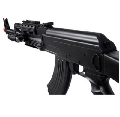 UK ARMS P1247 Tactical AK-47 Spring Rifle With Bonus Spring Pistol
