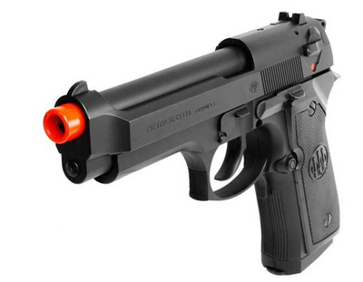 BERETTA 92FS FS ELECTRIC AIRSOFT PISTOL, BLACK AEP