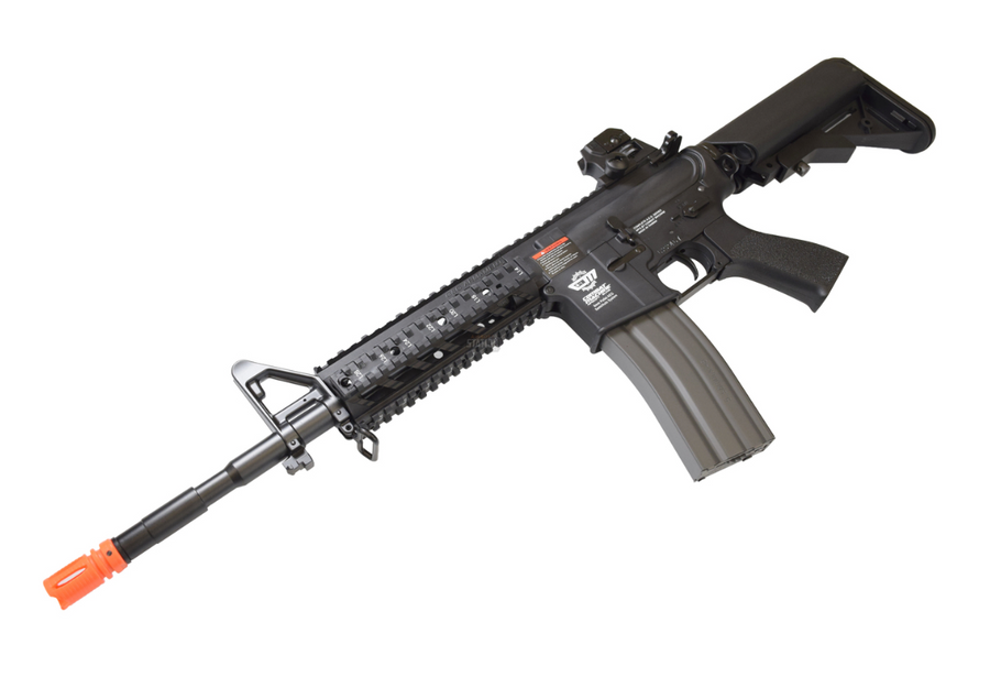 G&G CM16 RAIDER LONG BLACK COMBAT MACHINE AIRSOFT RIFLE