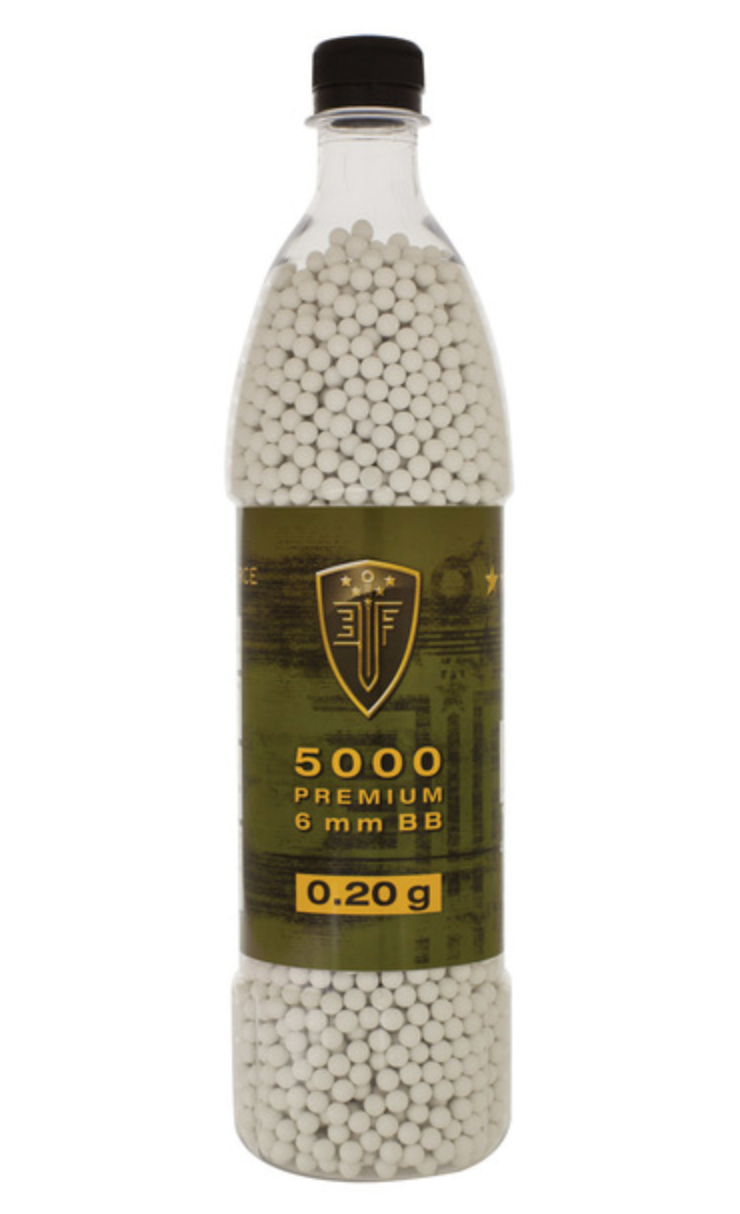 ELITE FORCE PREMIUM BBS, 0.20G, 5000 ROUND