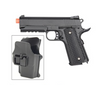 G25H Airsoft Metal 226 Spring Pistol with Quick Release Holster 280 FPS