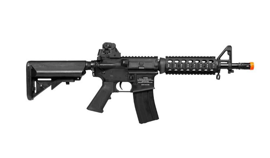 COLT M4 CQB FULL METAL RIS AEG AIRSOFT RIFLE W/ EXTRA MAG
