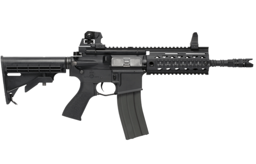 G&G GR4 100Y BLOWBACK AEG AIRSOFT RIFLE, BLACK
