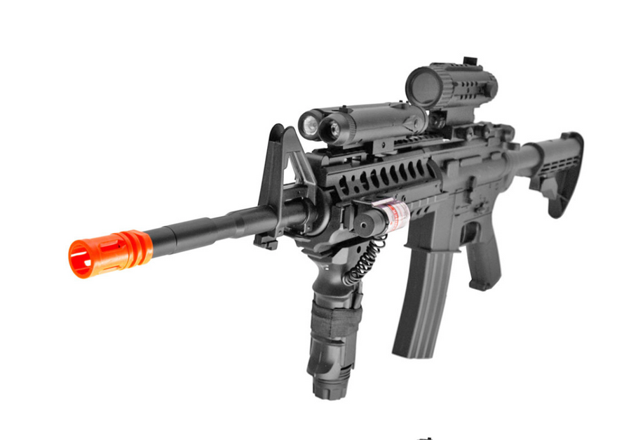 FIREPOWER F4-D M4 FULL AUTO ELECTRIC AIRSOFT RIFLE