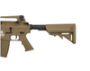LANCER TACTICAL M4A1 CARBINE COMBAT READY AEG, GEN 2, TAN