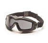 PYRAMEX V2G PLUS FULL SEAL SAFETY GOGGLES, GRAY LENS