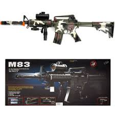 Camo M4 M16 Airsoft Electric Assault Rifle AEG Semi-Full Auto M83