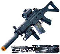 M82p Fully-Semi Automatic Airsoft Rifle