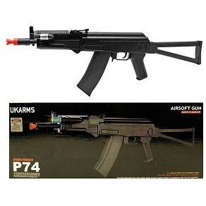 P74 Folding Stock AK-74U RIS Spring Powered Rifle