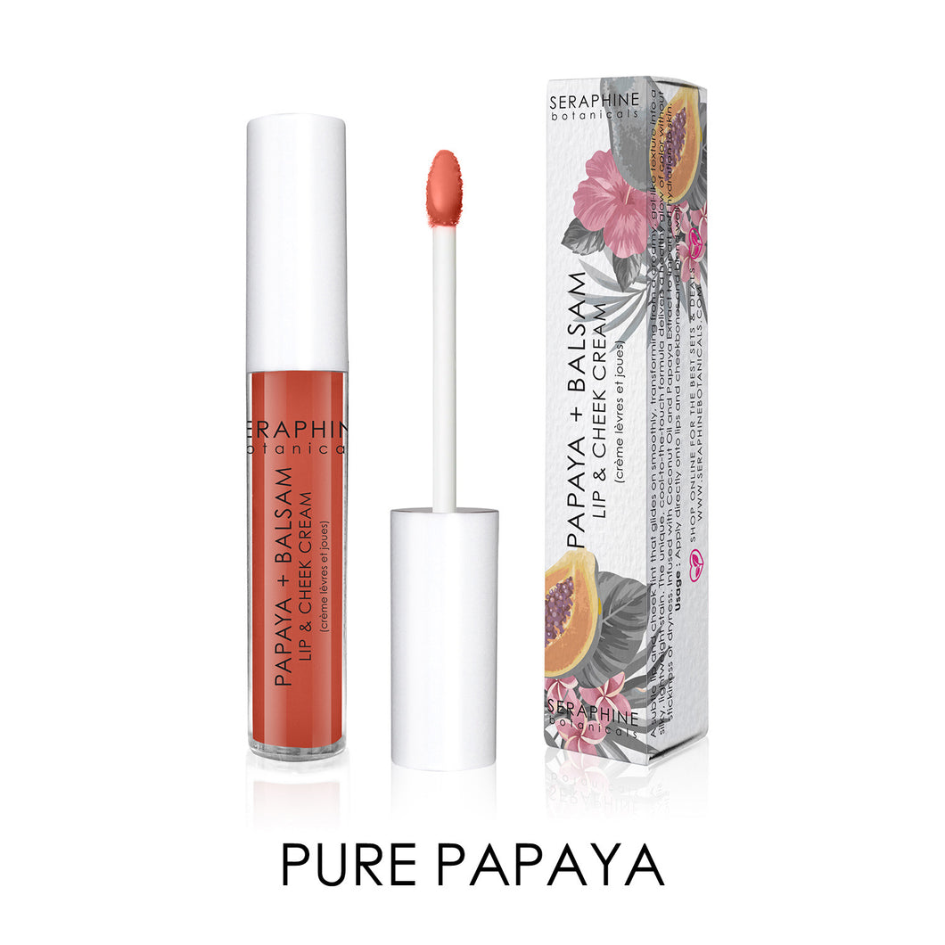 Papaya + Balsam Mini - Lip & Cheek Cream