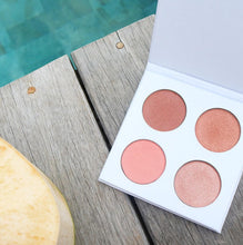 Happy Hibiscus Palette - 99% Natural Blush Palette for All Skin Tones