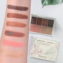 Mimosa + Magic - Vegan Eyeshadow, Blush & Highlighter Palette
