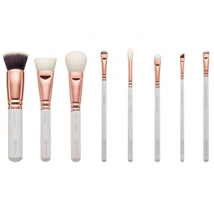 Rose Gold Vegan Luxe Brush Set