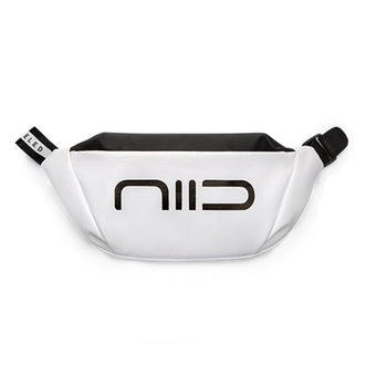 NIID Statements S3 Chest Bag Paper White