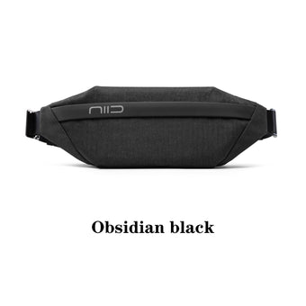 NIID X URBANATURE VIA V1 Chest Bag/Obsidian black