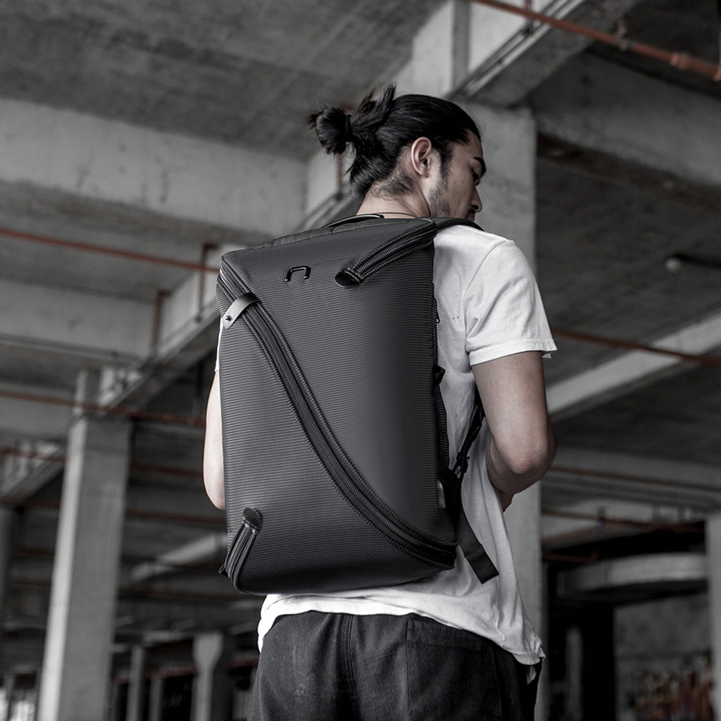 Laptop Backpack Travel Bag - Uno I Black - NIID