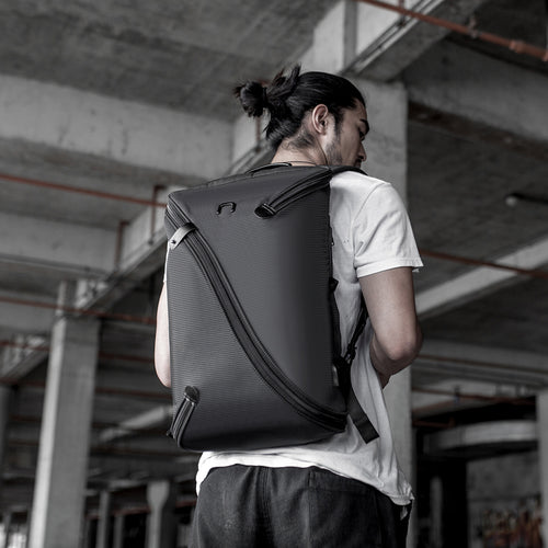 Laptop Backpack Travel Bag - Uno I Black